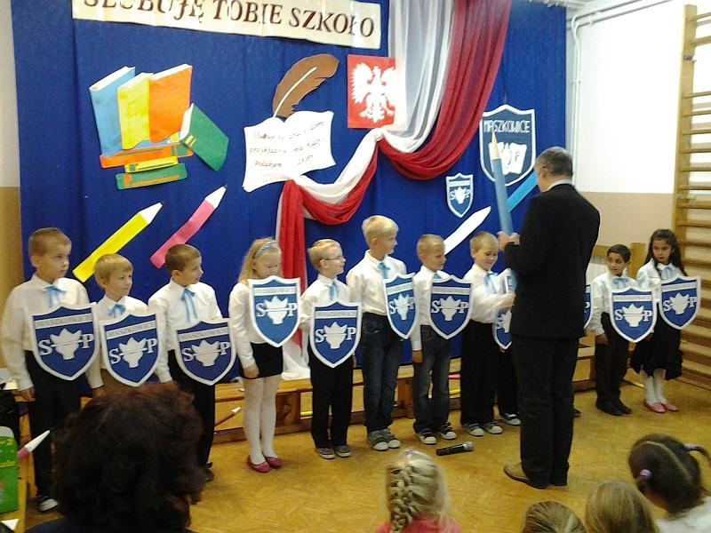 Nowi Uczniowie Pod Górą Zyndrama W Maszkowicach Nowi